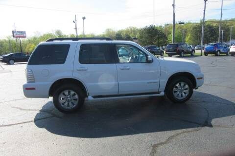 2008 Mercury Mountaineer for sale at Burgess Motors Inc in Michigan City IN