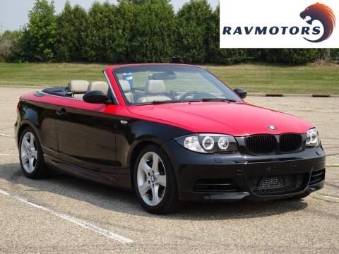 2008 BMW 1 Series for sale at RAVMOTORS in Burnsville MN