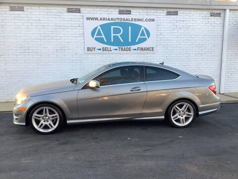 2013 Mercedes-Benz C-Class for sale at ARIA  AUTO  SALES in Raleigh NC