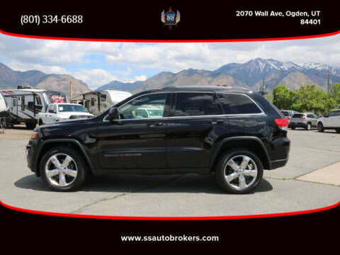 2017 Jeep Grand Cherokee for sale at S S Auto Brokers in Ogden UT