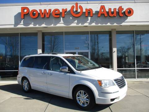 2010 Chrysler Town and Country for sale at Power On Auto LLC in Monroe NC