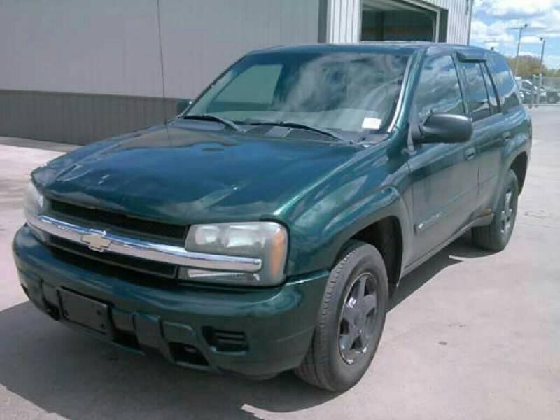 2002 Chevrolet TrailBlazer for sale at Steve's Auto Sales in Madison WI