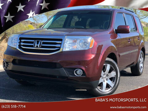 2012 Honda Pilot for sale at Baba's Motorsports, LLC in Phoenix AZ