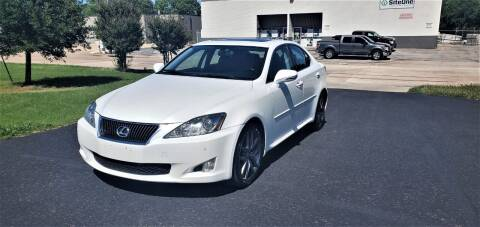 2009 Lexus IS 250 for sale at Image Auto Sales in Dallas TX