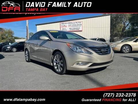 2011 Hyundai Sonata for sale at David Family Auto in New Port Richey FL