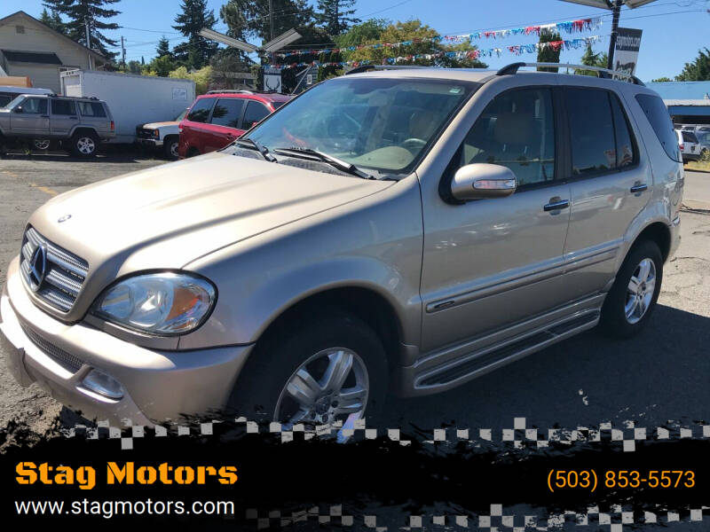 2005 Mercedes-Benz M-Class for sale in Portland, OR