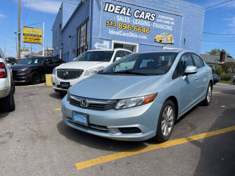 2012 Honda Civic for sale at Ideal Cars in Hamilton OH