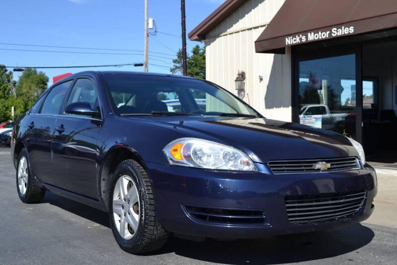2008 Chevrolet Impala for sale at Nick's Motor Sales LLC in Kalkaska MI