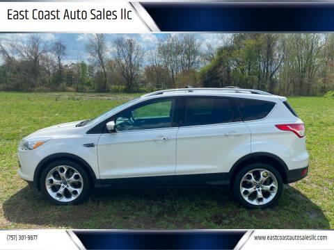 2013 Ford Escape for sale at East Coast Auto Sales llc in Virginia Beach VA