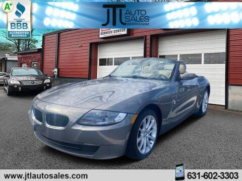 2008 BMW Z4 for sale at JTL Auto Inc in Selden NY