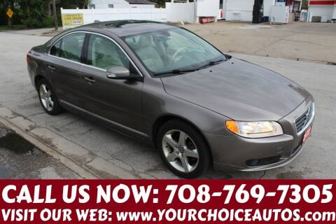 2008 Volvo S80 for sale at Your Choice Autos in Posen IL