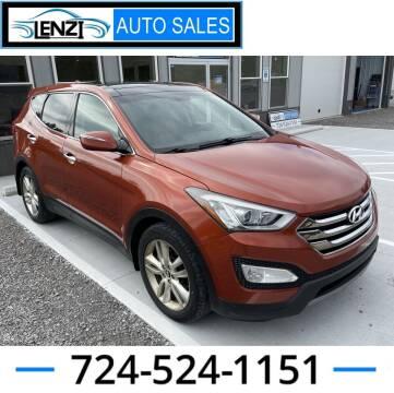 2013 Hyundai Santa Fe Sport for sale at LENZI AUTO SALES in Sarver PA