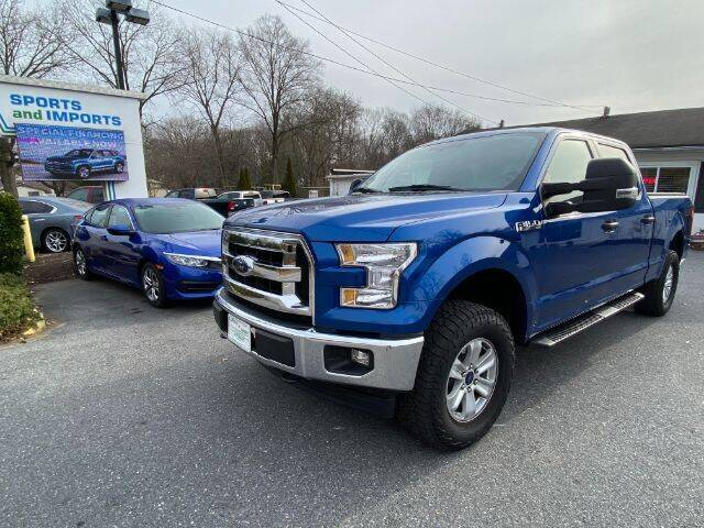 2017 Ford F-150 for sale at Sports & Imports in Pasadena MD