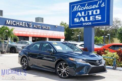 2018 Toyota Camry for sale at Michael's Auto Sales Corp in Hollywood FL