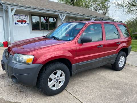 2007 Ford Escape for sale at Brewer's Auto Sales in Greenwood MO