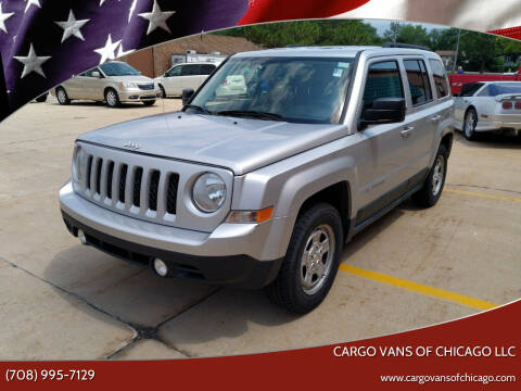 2011 Jeep Patriot for sale at Cargo Vans of Chicago LLC in Mokena IL