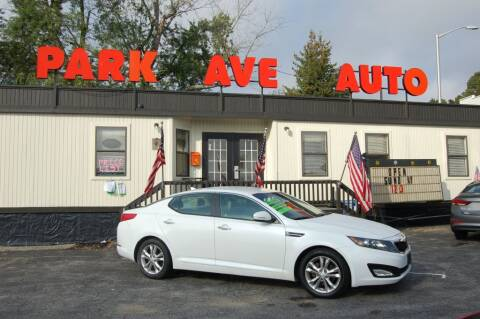 2012 Kia Optima for sale at Park Ave Auto Inc. in Worcester MA