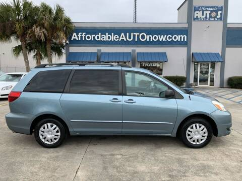 2005 Toyota Sienna for sale at Affordable Autos in Houma LA