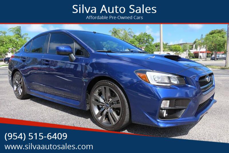 2016 Subaru WRX for sale at Silva Auto Sales in Pompano Beach FL