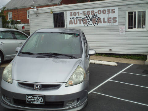 2007 Honda Fit for sale at Marlboro Auto Sales in Capitol Heights MD