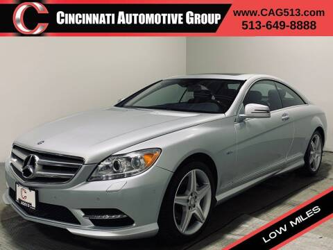 2011 Mercedes-Benz CL-Class for sale at Cincinnati Automotive Group in Lebanon OH