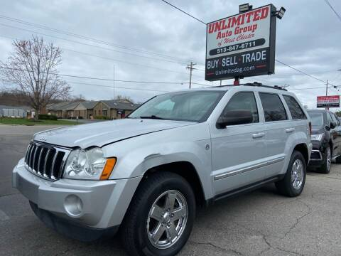 2007 Jeep Grand Cherokee for sale at Unlimited Auto Group in West Chester OH