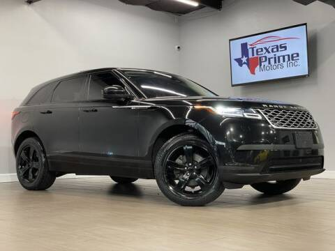 2018 Land Rover Range Rover Velar for sale at Texas Prime Motors in Houston TX