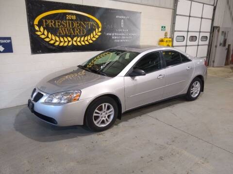2006 Pontiac G6 for sale at LIDTKE MOTORS in Beaver Dam WI