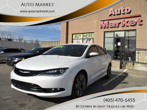 2015 Chrysler 200 for sale at Auto Market in Oklahoma City OK