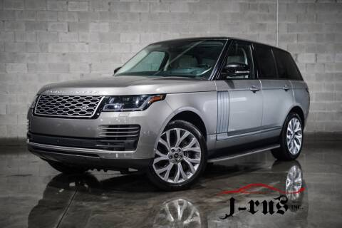 2018 Land Rover Range Rover for sale at J-Rus Inc. in Macomb MI