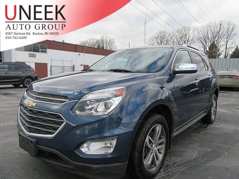 2017 Chevrolet Equinox for sale at Uneek Auto Group LLC in Burton MI