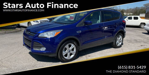 2013 Ford Escape for sale at Stars Auto Finance in Nashville TN