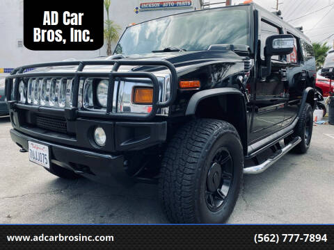 2006 HUMMER H2 for sale at AD Car Bros, Inc. in Whittier CA