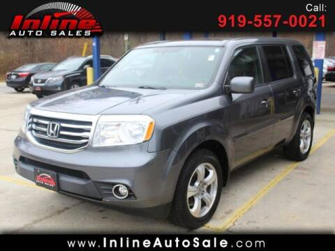 2013 Honda Pilot for sale at Inline Auto Sales in Fuquay Varina NC