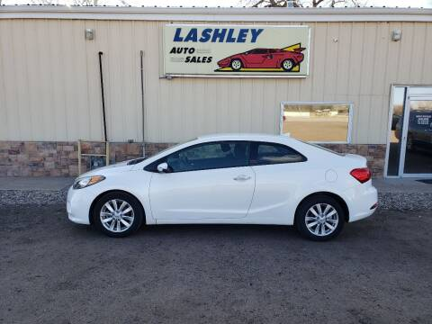 2015 Kia Forte Koup for sale at Lashley Auto Sales in Mitchell NE
