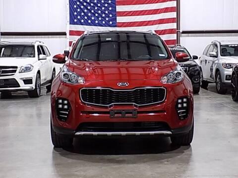 2017 Kia Sportage for sale at Texas Motor Sport in Houston TX