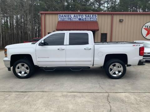 2014 Chevrolet Silverado 1500 for sale at Daniel Used Auto Sales in Dallas GA