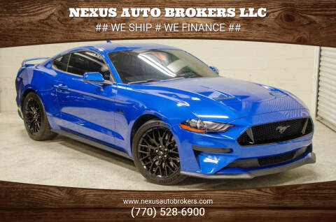 2020 Ford Mustang for sale at Nexus Auto Brokers LLC in Marietta GA