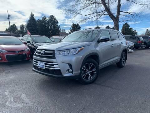 2018 Toyota Highlander for sale at Global Automotive Imports of Denver in Denver CO
