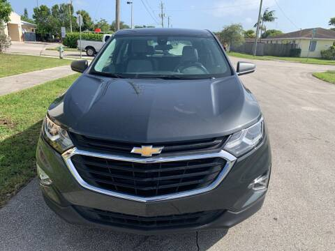 2020 Chevrolet Equinox for sale at Eden Cars Inc in Hollywood FL