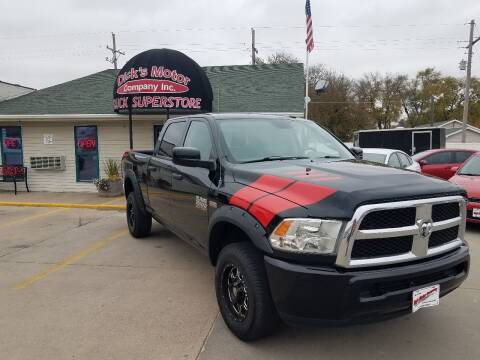 2013 RAM Ram Pickup 2500 for sale at DICK'S MOTOR CO INC in Grand Island NE