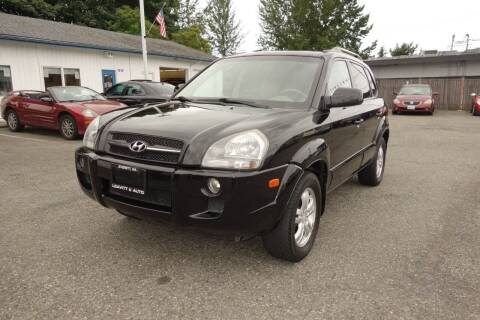 2007 Hyundai Tucson for sale at Leavitt Auto Sales and Used Car City in Everett WA