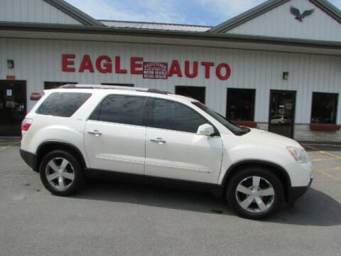 2010 GMC Acadia for sale at Eagle Auto Center in Seneca Falls NY