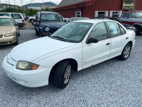2003 Chevrolet Cavalier for sale at Bailey's Auto Sales in Cloverdale VA