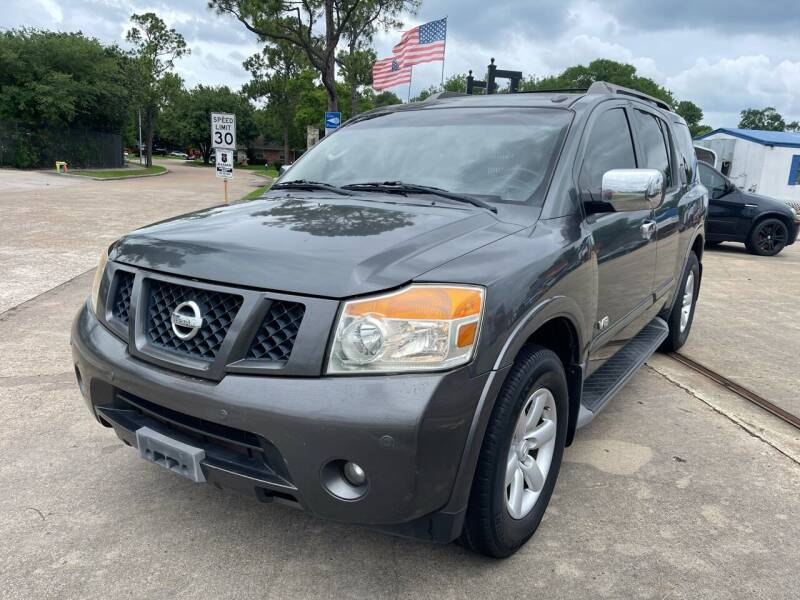 2008 Nissan Armada for sale at Newsed Auto in Houston TX