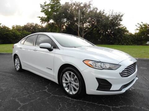 2019 Ford Fusion Hybrid for sale at SUPER DEAL MOTORS 441 in Hollywood FL