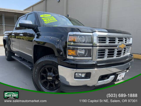 2015 Chevrolet Silverado 1500 for sale at Salem Auto Market in Salem OR