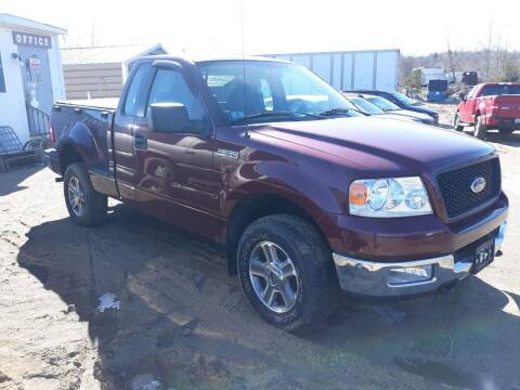 2005 Ford F-150 for sale at Classic Heaven Used Cars & Service in Brimfield MA