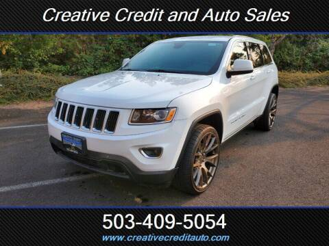 2016 Jeep Grand Cherokee for sale at Creative Credit & Auto Sales in Salem OR