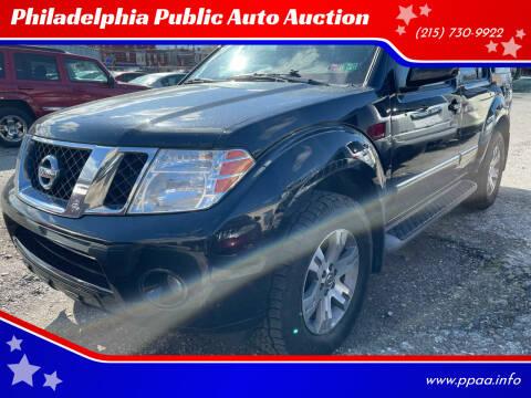 2012 Nissan Pathfinder for sale at Philadelphia Public Auto Auction in Philadelphia PA